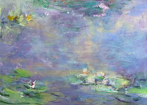 "Carrie Clayden - Amorous Air, 40x30"""