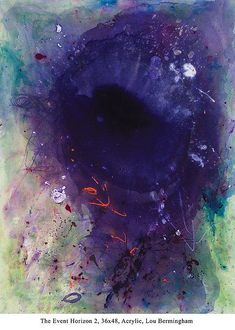 "Lou Bermingham - The Event Horizon 48x36"""
