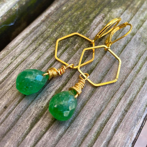 Green with Envy - Earrings