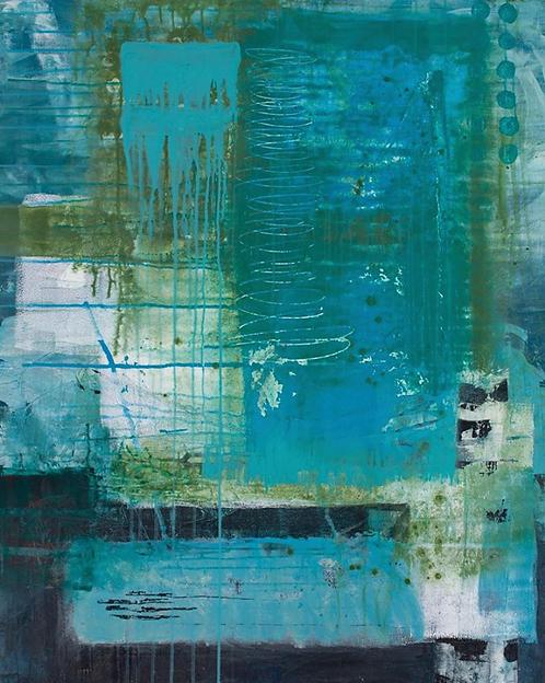 """Lorraine Lawson - Mirage, 48x36"""""""