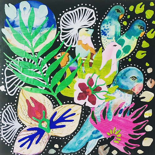 "Noelle Correia - Flora and Fauna III 10x10"""