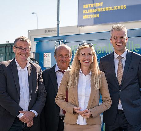 NR Martin Landolt, Hans-Peter Egli, NR Barbara Keller-Inhelder und Prof. Dr. Markus Friedl
