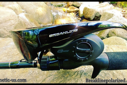 Cinnetic EVO T.E. Bait Caster w/ Free Breakline Sunglasses!