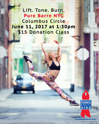 Pure Barre Donation Class for BC/EFA
