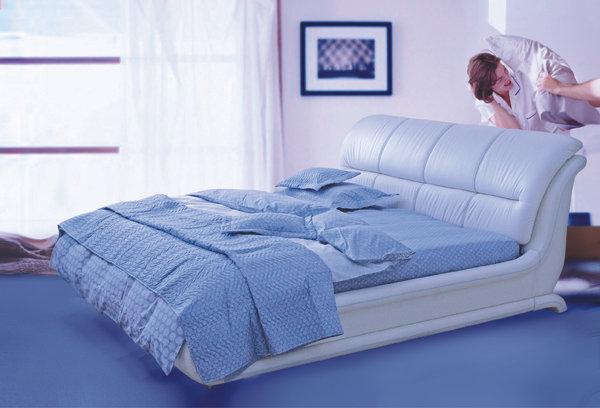Мягкая кровать Орхидея