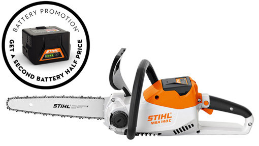 Stihl MSA 140 C-B Battery Chainsaw