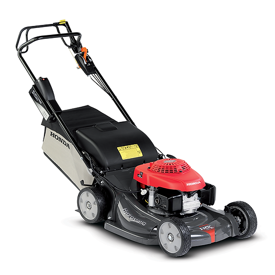 "Honda HRX537HZE Self Propelled Lawnmower 21"" Electric Start"
