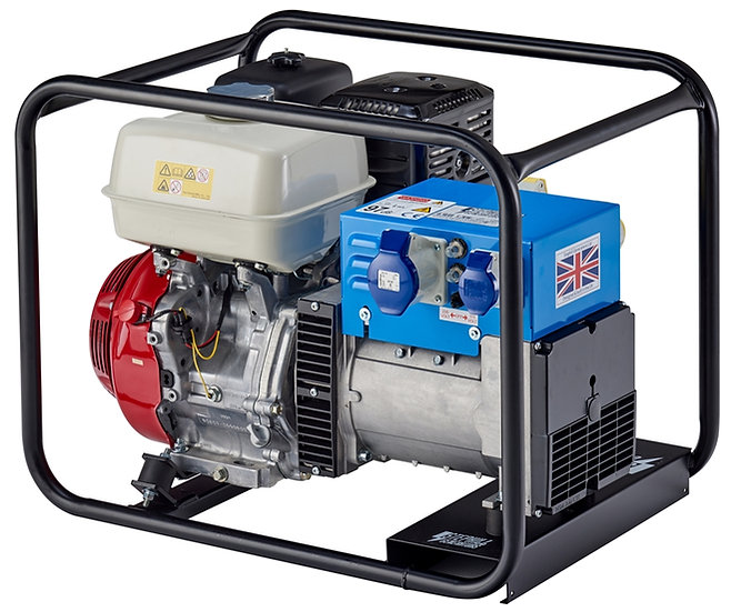 Stephill 6500HMS Petrol Generator - 6.5kVA/ 5.2kW