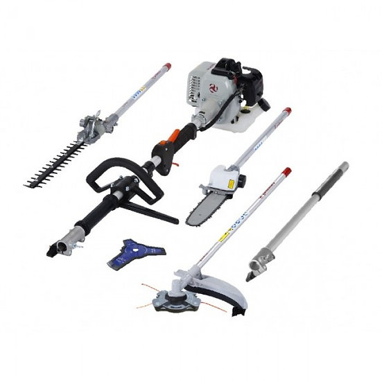 Gardencare GCMT263 Multi-tool 4-in-1 Polesaw / Strimmer /Blade / Hedgetrimmer