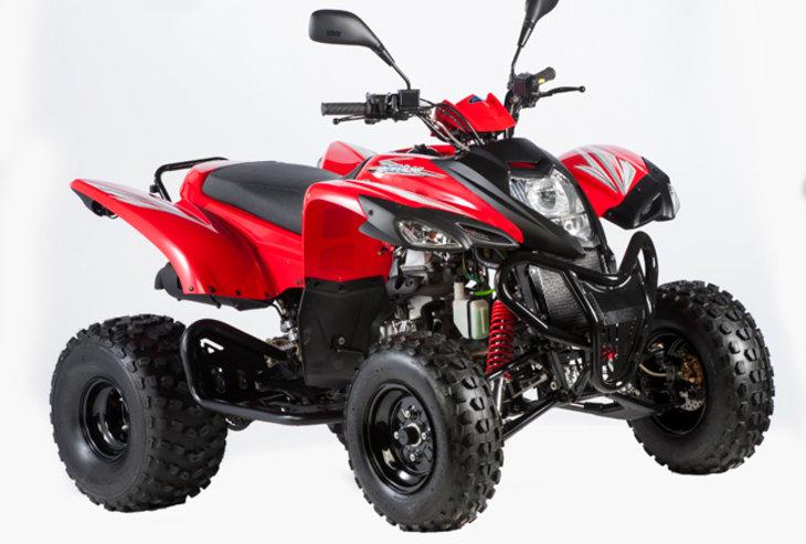 ADLY 320 XC 272cc  Quad - Demo Machine
