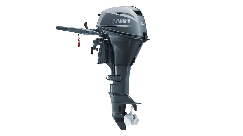 Yamaha F15 CMHS - 15HP - 4 Stroke - Short Shaft - Outboard Engine