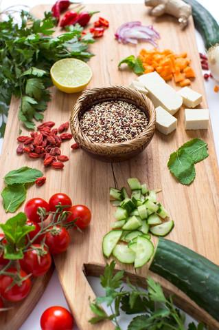 Herbed Quinoa Tabbouleh