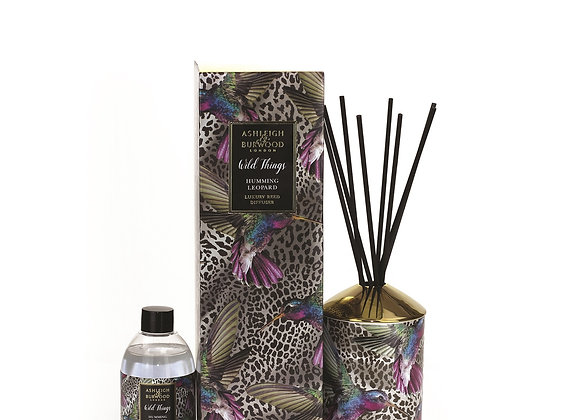 Ashleigh & Burwood Wild Things Diffuser - Humming Leopard - Black Raspberry
