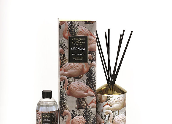 Ashleigh & Burwood Wild Things Diffuser- Pinemingos - Coconut & Lychee