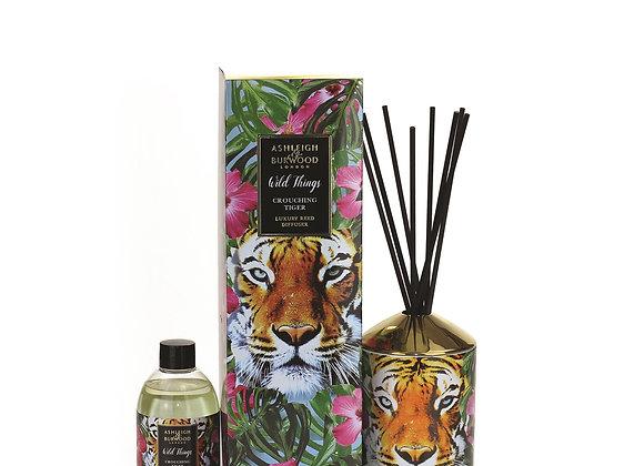 Ashleigh & Burwood Wild Things Diffuser - Crouching Tiger - Mandarin & Bergamot