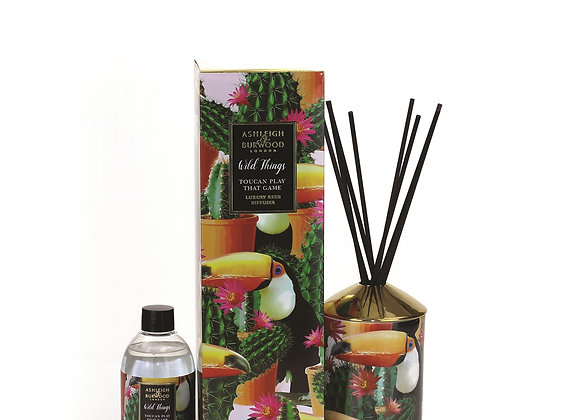 Ashleigh & Burwood Wild Things Diffuser - Toucan Play That Game - Mango & Nectar
