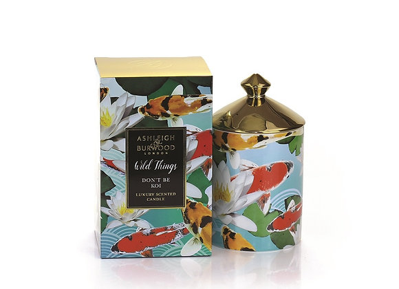Ashleigh & Burwood Wild Things Candle - Don't be Koi - Moroccan Spice