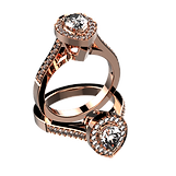 3D Space Pro, Custom Jewelry Design, Firestorm CAD, custom design jewelry, 3D jewelry design, jewelry CAD Software, CAD software, CAD program, custom jewelry design program