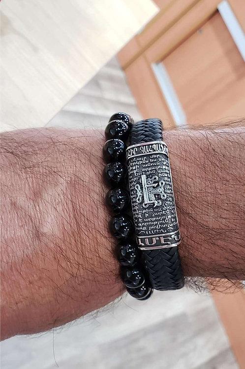 Bahir ou Bahbanir Echmiadzin leather magnet