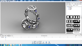 Firestorm Keyshot Rendering, 3D Space Pro, Custom Jewelry Design, Firestorm CAD, custom design jewelry, 3D jewelry design, jewelry CAD Software, CAD software, CAD program, custom jewelry design program,  3d jewelry, 3d jewelry design, matrix, rhino, 3d cus