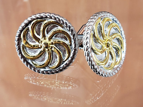 #1415 - Arevakhach Eternity Cuff links Large