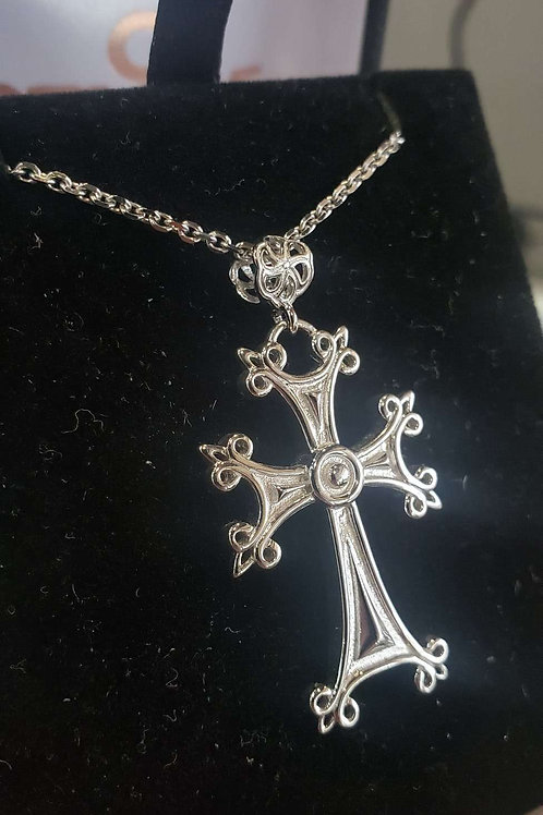 Khachkar Cross solid Silver