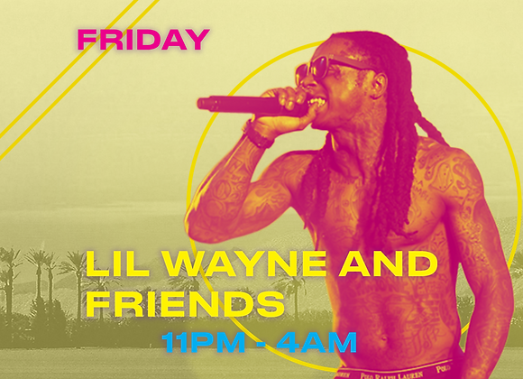 Lil Wayne & Friends Table- Gold