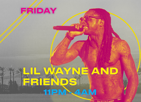Lil Wayne & Friends Table- Silver
