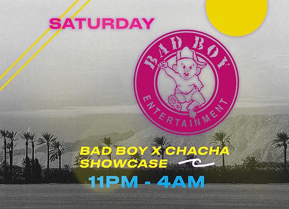 Bad Boy x Cha Cha Showcase Table