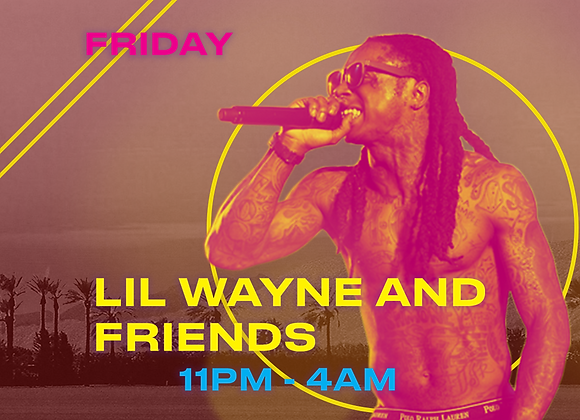 Lil Wayne & Friends Table- Bronze