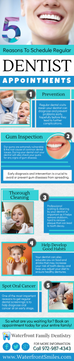 5 Reasons to schedule regular dentist appointments | Infographic