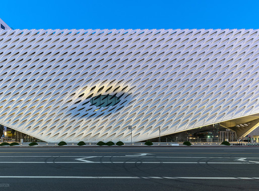 Los Angeles Trip - The Broad Museum