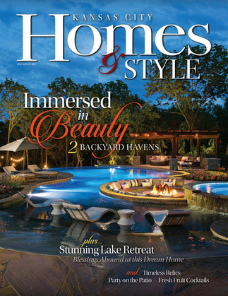 Kansas City Homes & Style cover