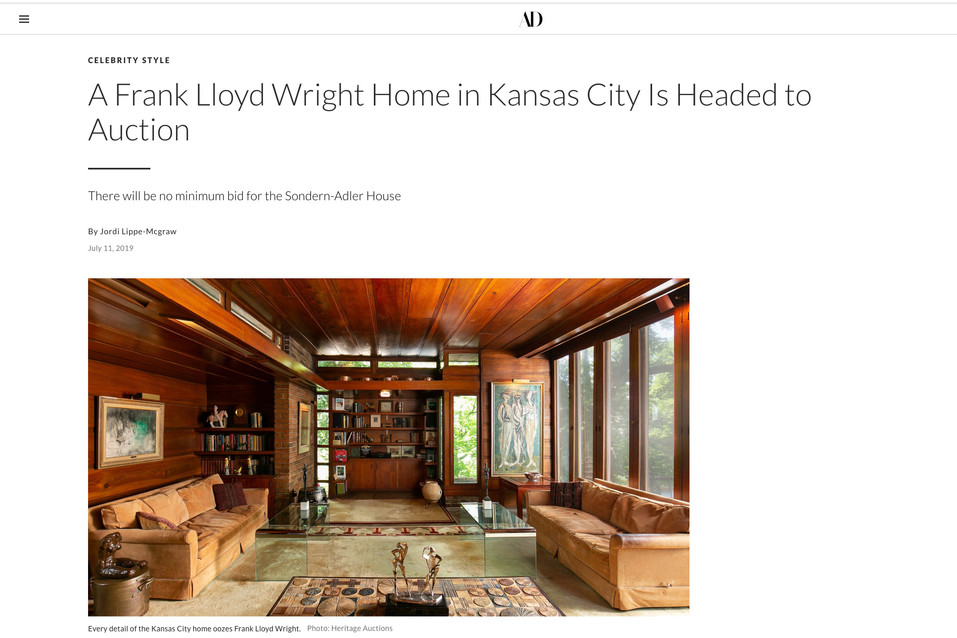 Architectural Digest Feature