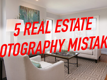 5 Mistakes I Made Early in my Real Estate Photography Career