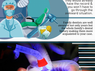 Reasons why you need a family dentist | Infographic