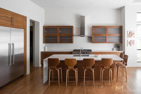 Starr Homes - Fenway model kitchen