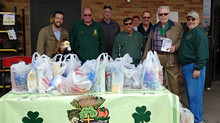 AOH Division 5's Food Drive Helps Feed Less Fortunate on Long Island