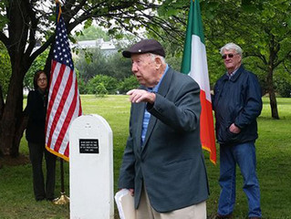 Division 5's Historian Bill Fahey, featured on IrishCentral.com for his work in remembering the