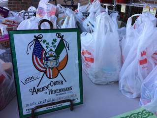AOH Division 5 Food Drive - December 10th, Center Moriches