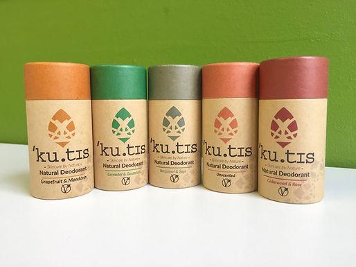 ku.tis Vegan Natural Deodorant