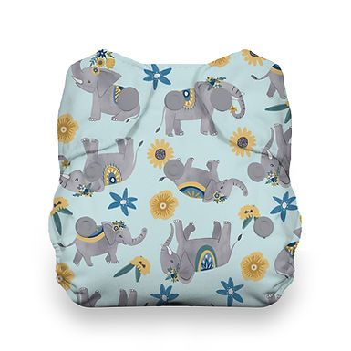 Thirsties Natural Newborn All in One Nappy
