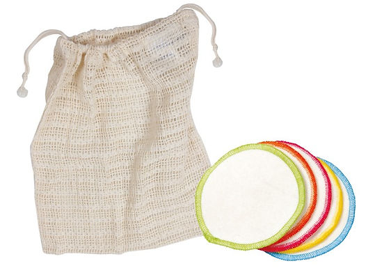 Make up Pads with Wash bag