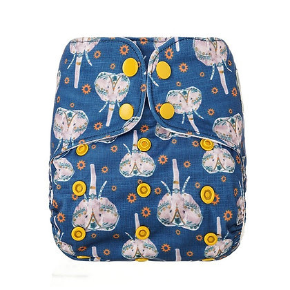 Bells Bumz Midnight Parade Pocket Nappy
