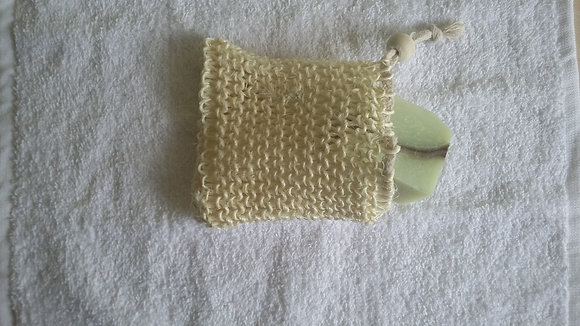 Soap and Pamper Exfoliating Soap Bag