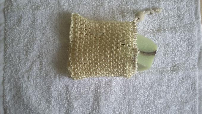 Soap and Pamper Exfoliating Soap Bag
