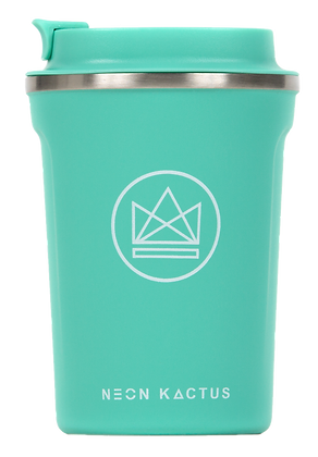 Neon Kactus Insulated Coffee Cup