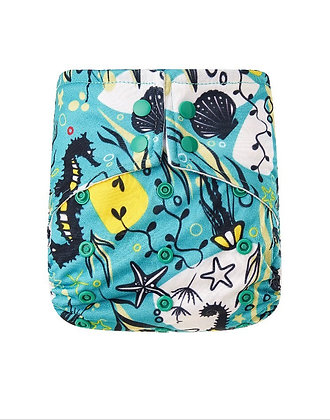Enchanted Reef Pocket Nappy