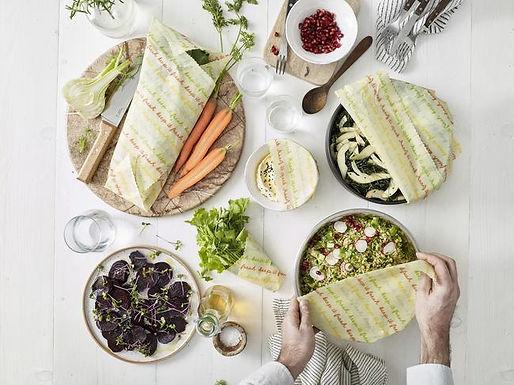 Vegan Food Wraps- Large Kitchen Pack