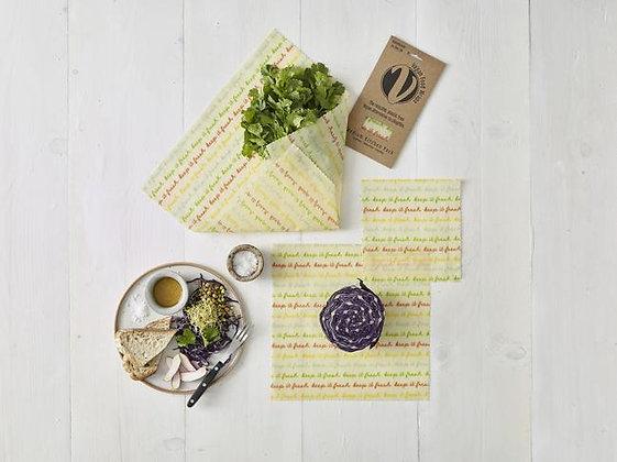 Vegan Food Wraps- Medium Kitchen Pack